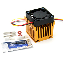 цены 1pcs 40mm x 10mm Cooling Fan Heatsink DIY Northbridge Cooler South North Bridge Radiator for PC Computer