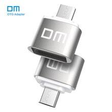 DM OTG B Bộ Chuyển Đổi Chức Năng OTG Biến USB Bình Thường Thành Điện Thoại Đèn LED Cổng USB Điện Thoại Di Động Bộ Điều Hợp