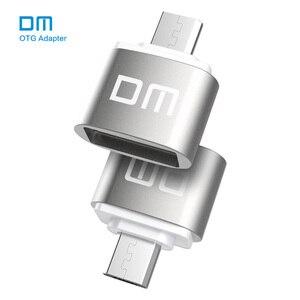 Image 1 - DM OTG B adaptor OTG function Turn normal USB into Phone USB Flash Drive Mobile Phone Adapters