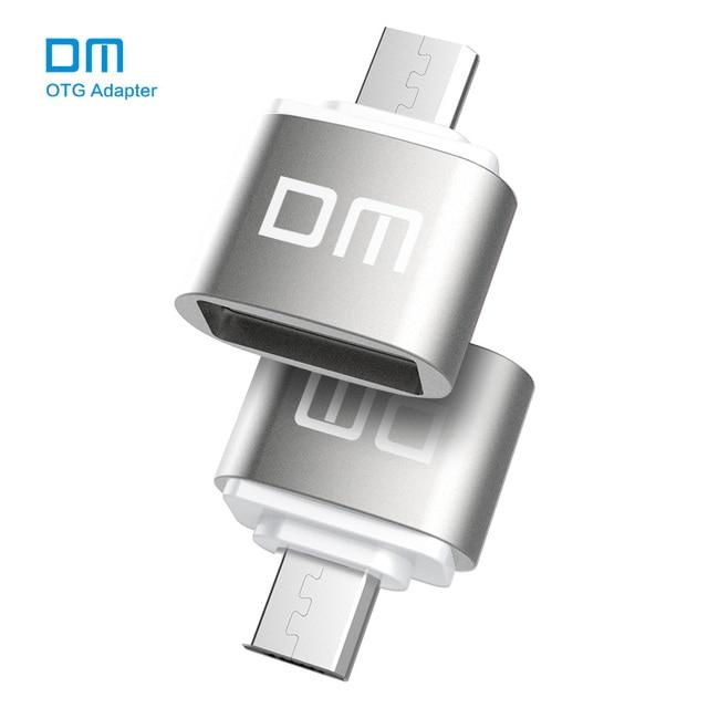 DM OTG B adaptor OTG function Turn normal USB into Phone USB Flash Drive Mobile Phone Adapters