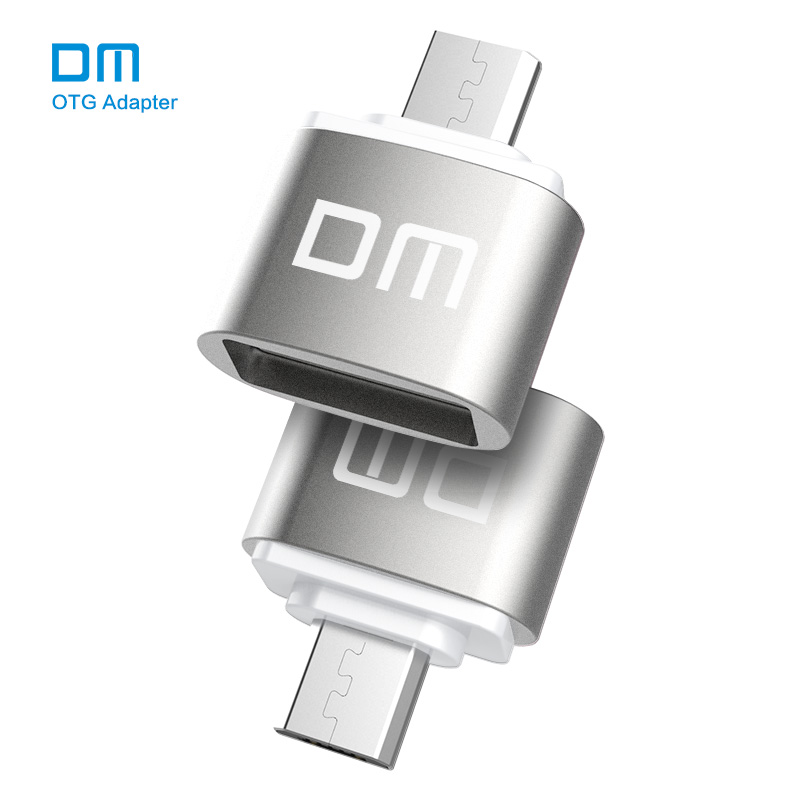Free shipping  DM OTG B adaptor OTG function Turn normal USB into Phone USB Flash Drive Mobile Phone Adapters-in Memory Card Adapters from Computer & Office