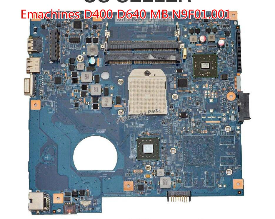 MB.N9F01.001 MBN9F01001 For eMachines D640 AMD Laptop Motherboard s1 100% tested