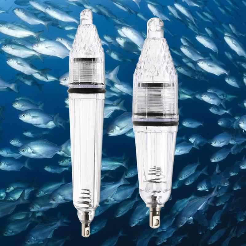 Deep Drop Fishing Light Multi Color Underwater Fish Attracting Indicator Lure LED Fishing Flash Light Bait Free Shipping