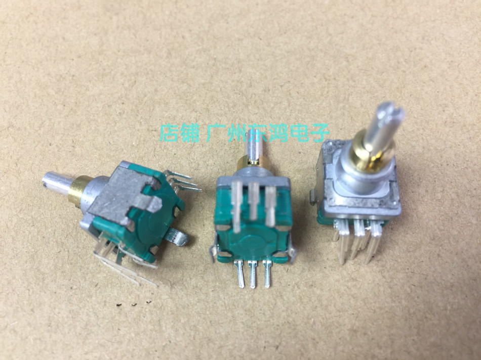 2PCS/LOT ALPS Alpine encoder + reset belt switch, double shaft 30 positioned, 15 pulse shaft length 17mm round shaft [zob] reset 704 123 018 704 121 018 import switzerland eao key switch lock hole 30 5 2pcs lot