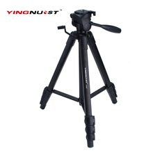YINGNUOST BY568 Professional Photographic Travel Compact Aluminum Heavy Duty Tripod Monopod 1520mm for Digital SLR Camera Stand