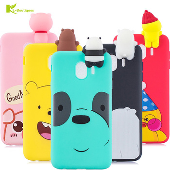 J4 2018 Phone Case on For Samsung Galaxy J4 2018 sFor Samsung J4 2018 J400 Cover 3D Doll Toys Candy Soft TPU Silicone Phone Case
