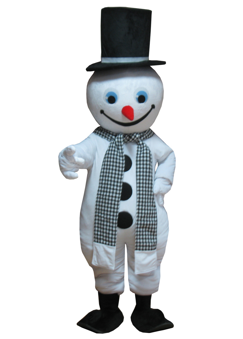 Christmas costumes cosplay halloween christmas snowman mascot adult costume christmas white thanks giving theme