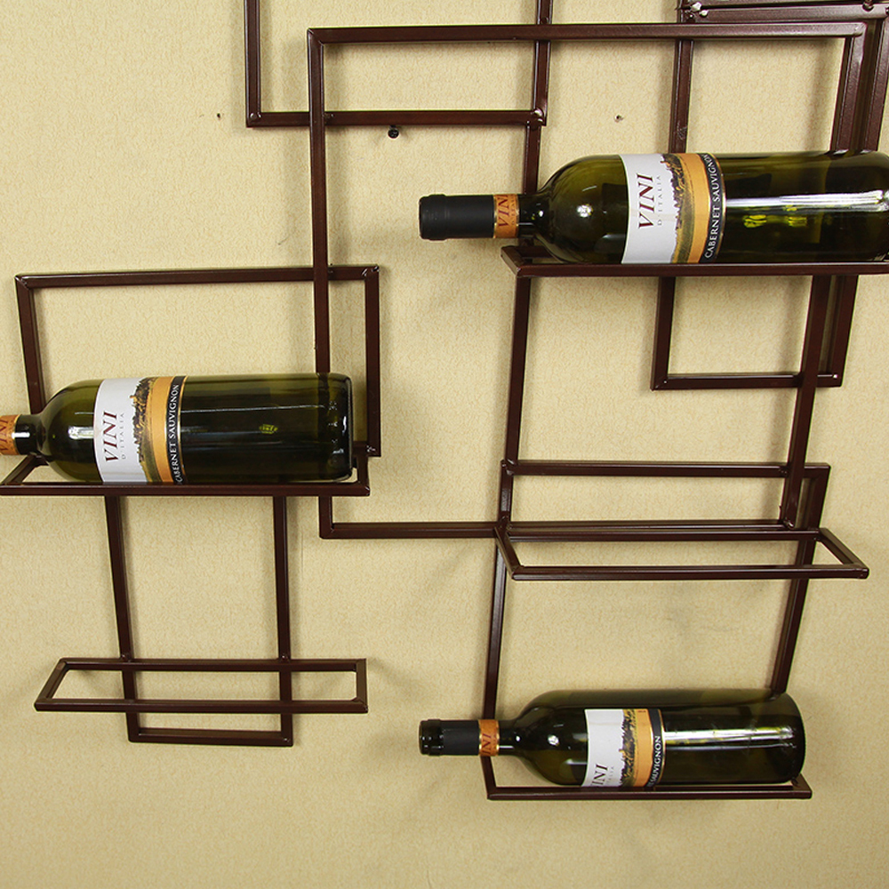 Wall Mounted Metal Wine Bottle Holder Home Design Ideas