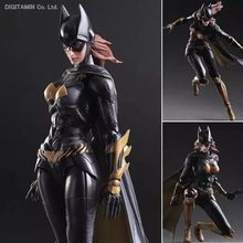 Jouer Arts Kai Batman Arkham Knight NO 5 Batgirl PVC Figurine À Collectionner Modèle Jouet 26 cm(China)