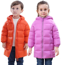 Children's Clothing Baby Boys Jacket 2017 Autumn Winter Jackets For Girls Kids Infant Coat Hooded Parkas Outerwear Coats XL199