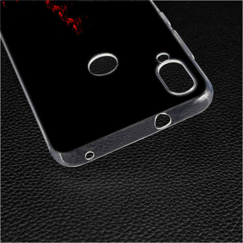 Przezroczysty miękki silikonowy futerał na telefon AC DC plakat muzyka dla Xiao mi mi 5 6 8 A1 A2 mi x 3 grać F1 Lite Pro czerwony mi uwaga 7 5X 6X