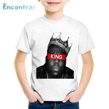 e4620334 America Hiphop Rapper Star Notorious Big Children T-shirts Kids Biggie  Smalls Summer Tees Boys