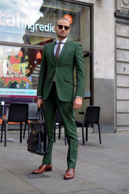 18790cbab4f40 Najnowsze wzory płaszcz Pant zielony mężczyzn garnitur Slim Fit Wedding  Party garnitury proste wykonane na zamówienie