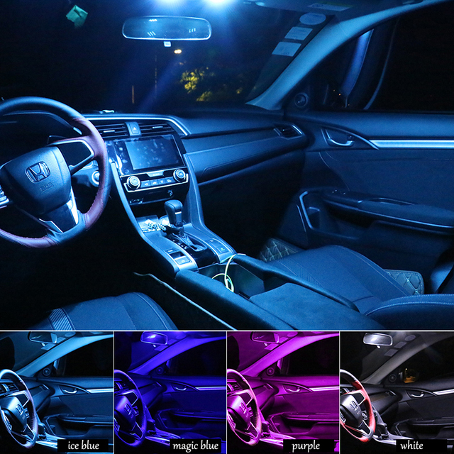 Car Styling Car Interior Led Reading Light Trunk Light For Honda