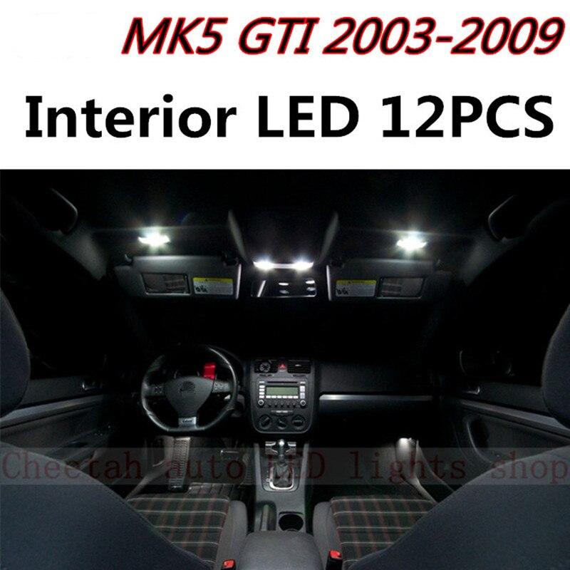 Gti Mk5 Interior Accessories: Aliexpress.com : Buy Tcart 12pcs Error Free LED Interior