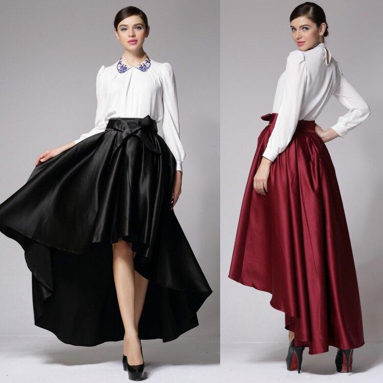 Popular Long Satin Skirts Bow-Buy Cheap Long Satin Skirts Bow lots ...