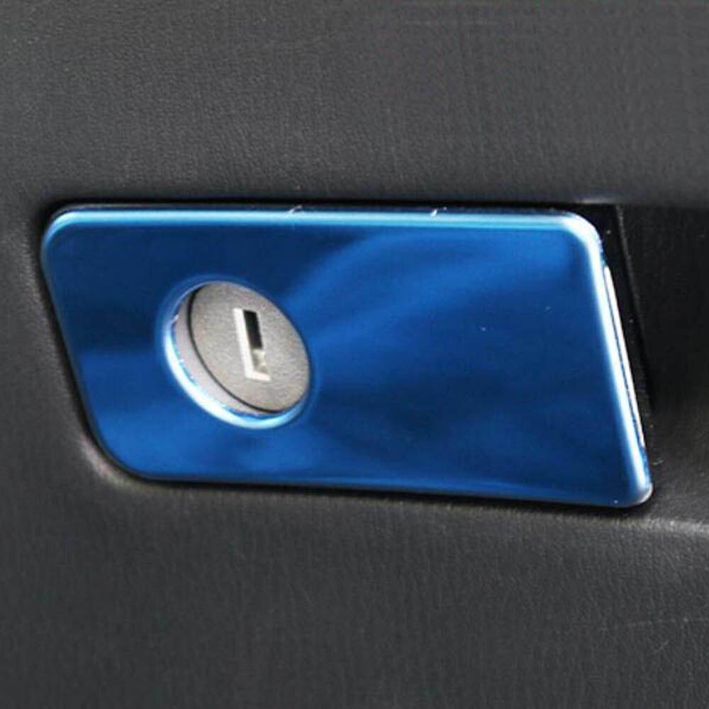 Front Co-pilot seat Glove box switch knob decorative sticker trim Cove for infiniti Q70 Q70L Interior Accessories