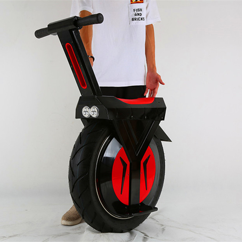 LED electric skateboard/ one wheel balance scooter/ self balancing electric hoverboard