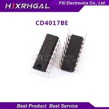 10PCS CD4017BE CD4017 DIP16 DIP CD4017B new original