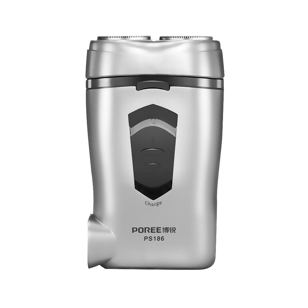buy ps186 silver beard shaver machine rasoir electrique homme 3d double blade