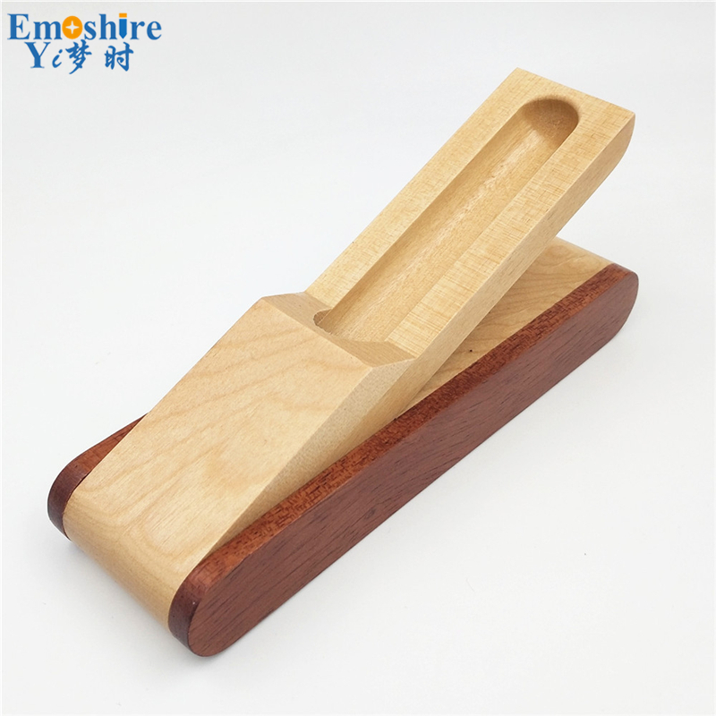 Emoshire Factory direct sales mahogany pieces of wood signature pen suits wooden pen box creative gift customization (13)
