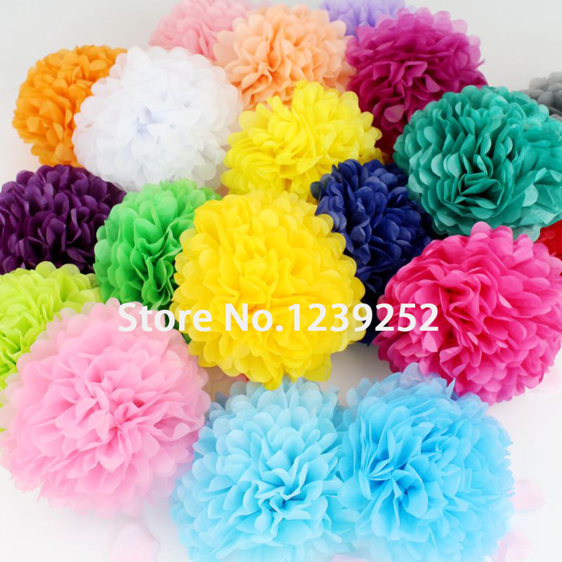 50 pcs 4 inch 10cm tissue paper pom poms paper flower balls 50 pcs 4 inch 10cm tissue paper pom poms paper flower balls wedding birthday new year christmas party decoration paper flower mightylinksfo