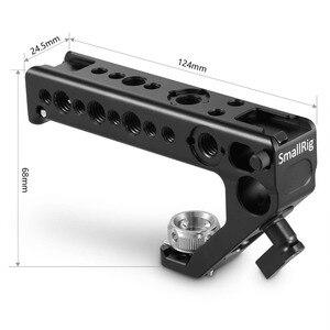 Image 2 - Smallrigデジタル一眼レフカメラトップハンドルグリップサイドarri位置とハンドル15ミリメートルロッドクランプarri位置穴カメラスタビライザー2165