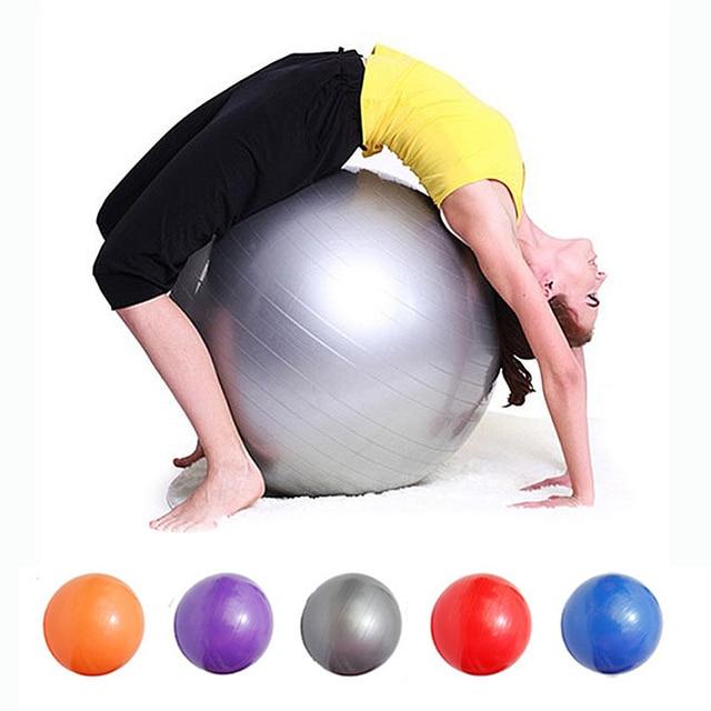 45 см 65 см Йога Фитнес мяч утилиты противоскользящие Мячи для йоги упражнения Пилатес баланс спортивные фитбол Доказательство Шары для фитнес Training