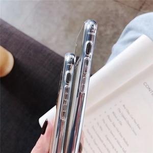 Image 3 - Новый Блестящий Прозрачный чехол Eqvvol для iPhone 7 8 Plus 6 6s, мягкие зеркальные чехлы из ТПУ для iPhone X XS MAX XR, Ультратонкий чехол