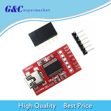 цена на FT232RL board FT232 FTDI USB 3.3V 5.5V to TTL Serial Adapter Module Mini Port FT232RL Download Cable To Serial Adapter Module
