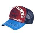new fashion boy girl fashion summer cap hat print letter style mesh cool sports snapback hats women men brand net baseball caps
