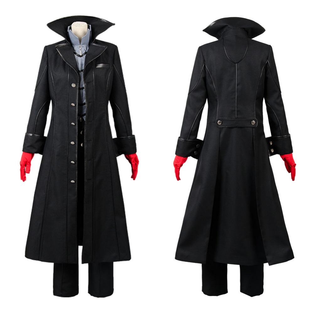 Persona 5 the leading character the hero dramatis personae Cosplay Costume Uniform All Sizes Custom Made