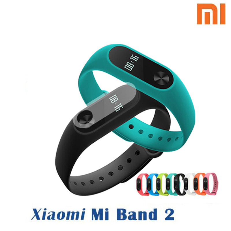 In Stock 100% Original Xiaomi Mi Band 2 Miband Band2 Wristband Bracele