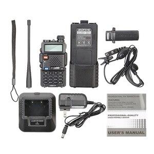 Image 5 - 2 sztuk Baofeng UV 5R 3800 MAh daleki zasięg Walkie Talkie 10KM dwuzakresowy UHF i VHF UV5R Ham Hf Transceiver przenośna stacja radiowa UV 5R