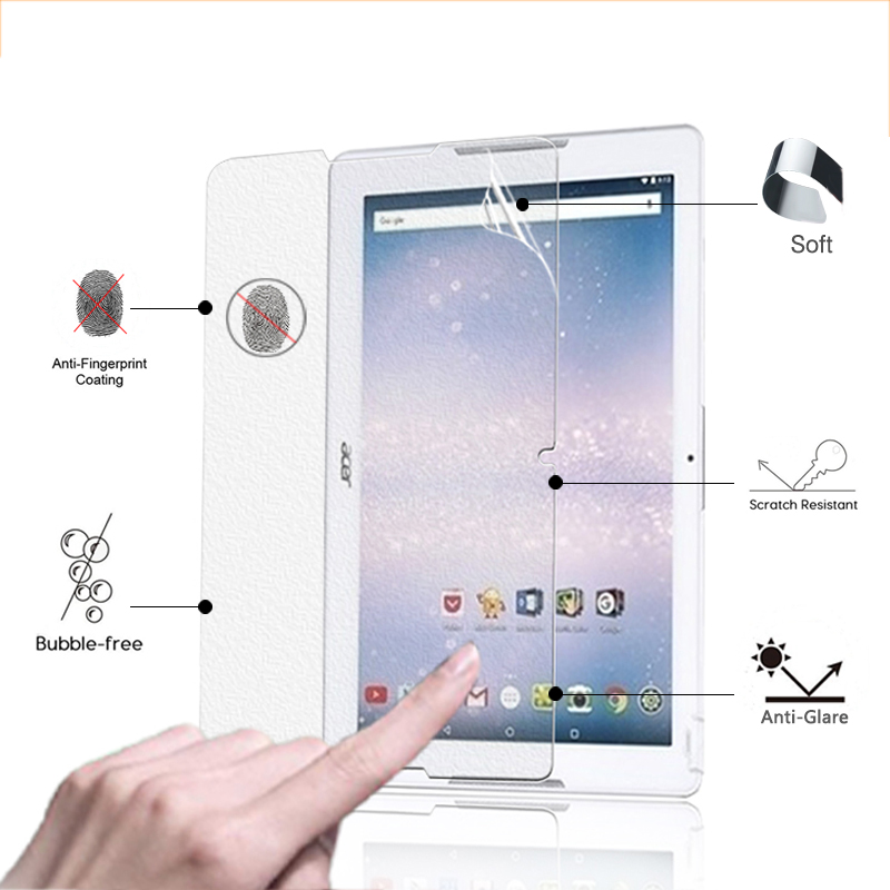On Sale!Anti-Glare Screen Protector Film Matte Film For Acer Iconia One 10 B3-A30 10.1 tablet front screen protective films image