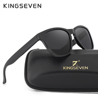 KINGSEVEN Retro Real Polaroized Sunglasses Women Men Brand Designer Sun Glasses Sports Eyewear Men Oculos De