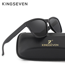 KINGSEVEN Retro Real Polarized Sunglasses Women & Men Brand Designer Sun Glasses Eyewear Men Oculos de sol feminino N7053