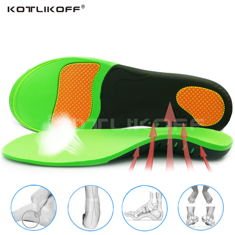 1 Pair Arch Orthotic Support Insole Flat Foot Correction Shoe Cushion Inserts H7