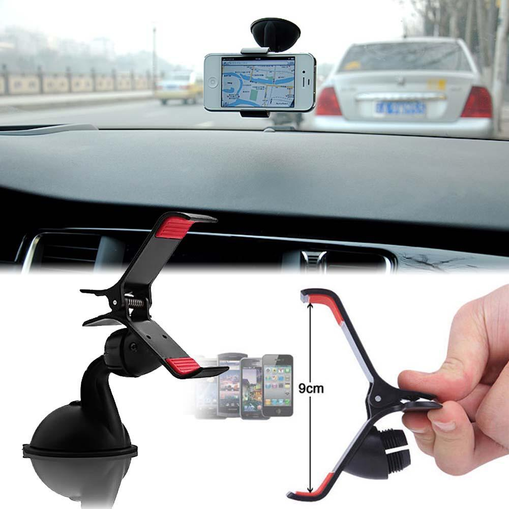 Universal Windshield 360 Degree Rotating Car Sucker Mount Bracket Holder Stand Universal f