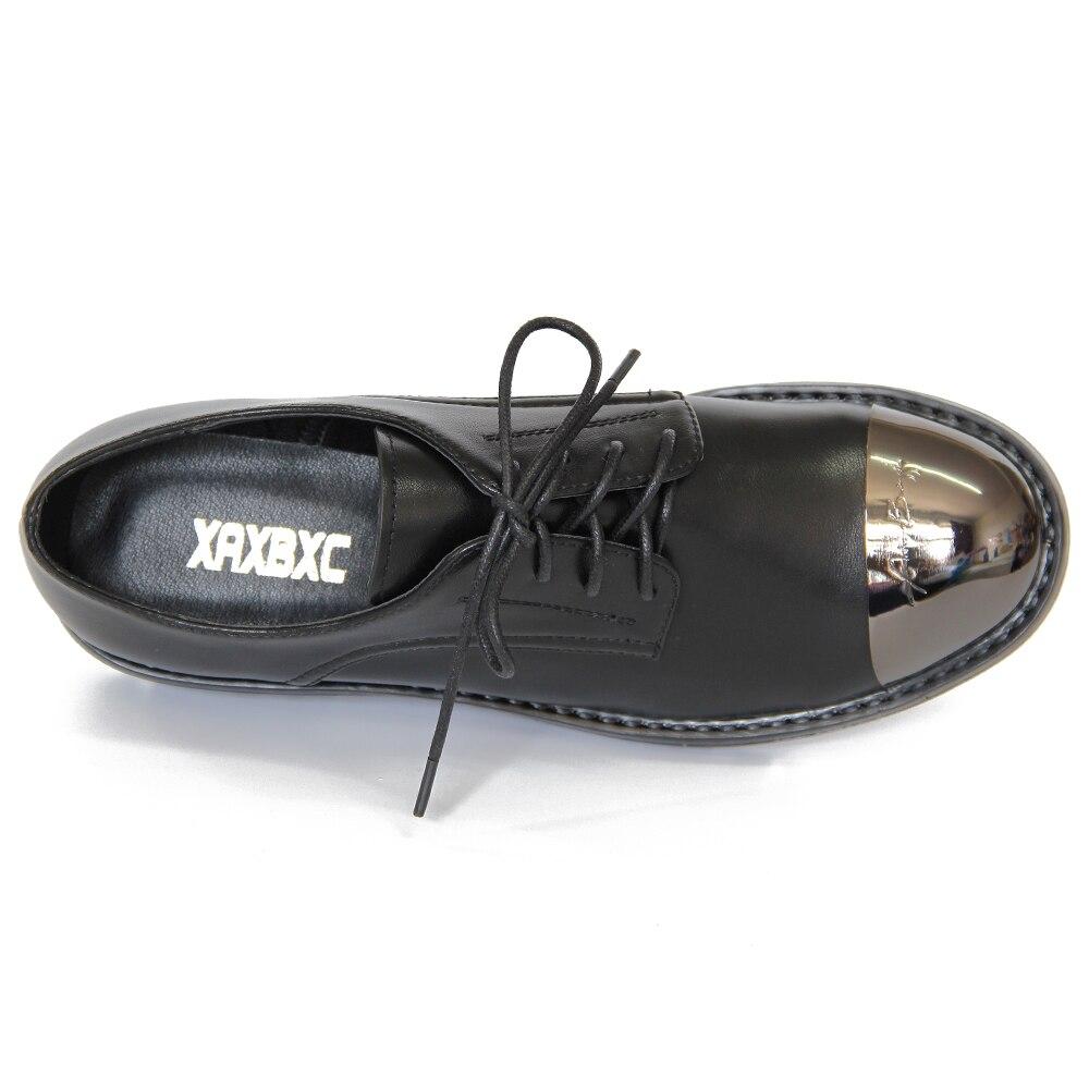 Oxfords Gray Black Bajos 2018 Bombas Red Punta Redonda Mujeres Encaje Mujer 02 Hasta Plataforma Otoño Primavera Xaxbxc Metal 01 Zapatos Tacones Cuero Casual 03 HAFIqwgC