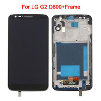 LCD For LG G2 D800 Display Touch Screen Digitizer Assembly For LG G2 D802 Display D800