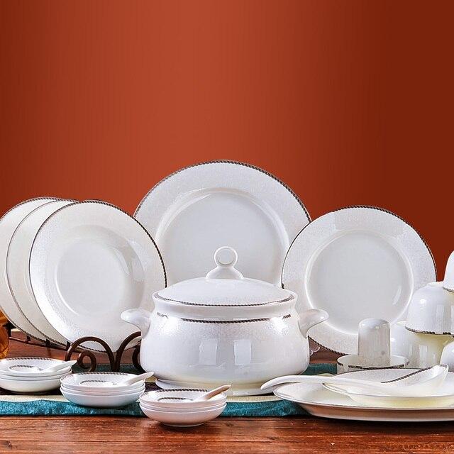 free shipping ceram plates set high quality ceramic 56pcs dinnerware set china tableware set & free shipping ceram plates set high quality ceramic 56pcs dinnerware ...