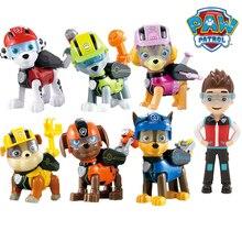 7 teile/satz Paw Patrol Spielzeug Hund Kann Verformung Spielzeug Kapitän Ryder Pow Patrol Psi Patrol Action figuren Spielzeug für Kinder geschenke
