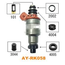 Бесплатная 4 компл. Топливная форсунка Ремонтный комплект для Mazda 323 1994 matched Mazda-Kia 1,6/1,8 195500-комплект для обслуживания 2040 (AY-RK058)