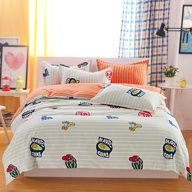 4pc Bedding set – Duvet Cover, Sheet, Pillowcase