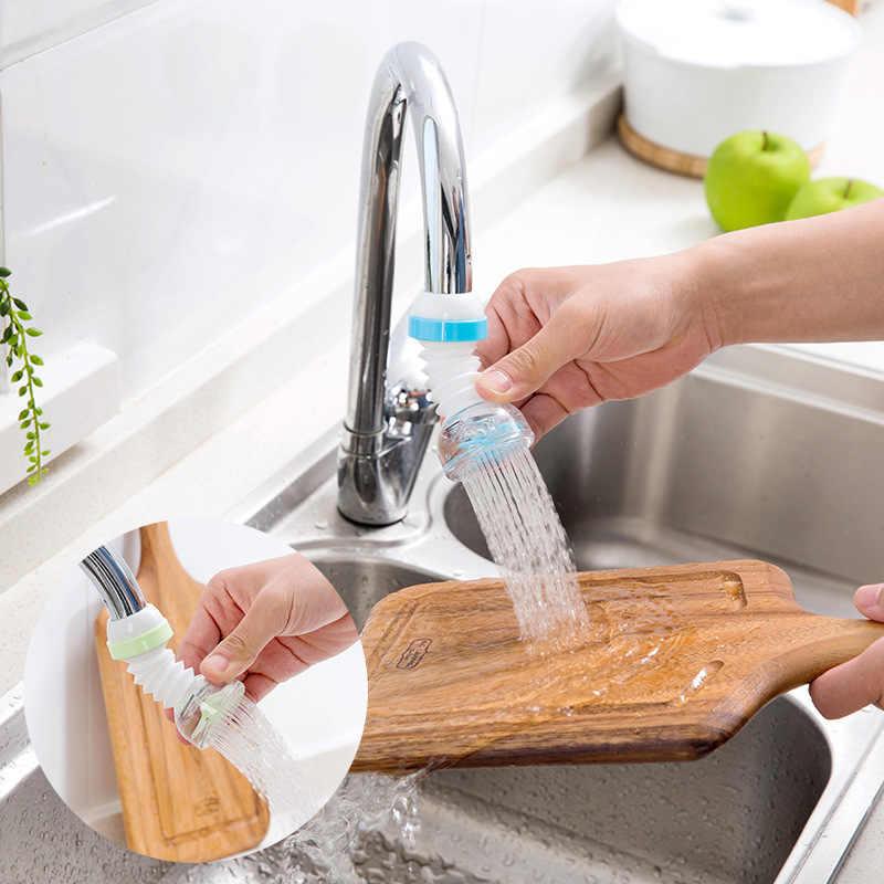 Vanzlife casa di estensione sul rubinetto doccia spruzzata filtro per l'acqua del rubinetto da cucina un ugello per la gru di acqua bambini rubinetto extender