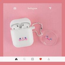 Super cute luxury INS Korea trf Blush expression Keychain si