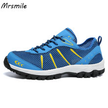 Μεγάλο μέγεθος Us6-12 καλοκαίρι υπαίθρια πεζοπορία παπούτσια πεζοπορίας Anti-Slip αναπνεύσιμα αεράκι ματιών βουνά παπούτσια πεζοπορίας για τους άνδρες αναπνεύσιμος αθλητισμός