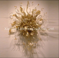 Modern Blown Glass Wall Lamps Hotel Indoor Art Decorative Murano Glass Shade Decorative Creative Wall Lamp