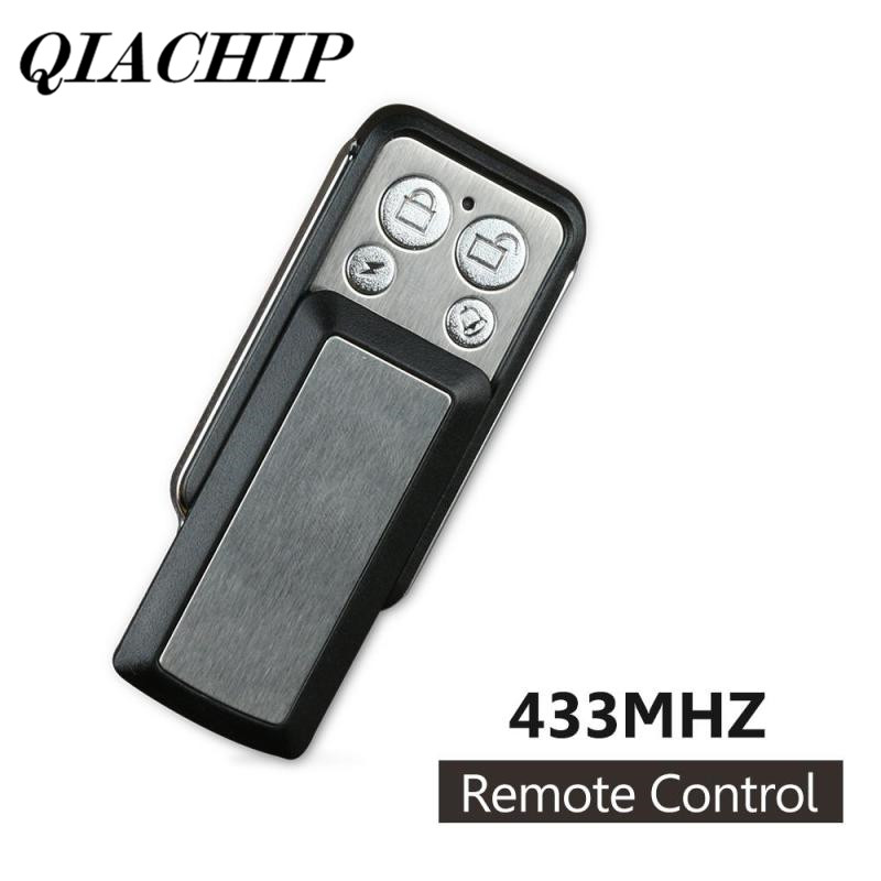 QIACHIP 433MHz Wireless 12V Copy Transmitter Cloning Garage Door Opener Relay Receiver Module Key Fob Remote Control Switch DS15 cloning